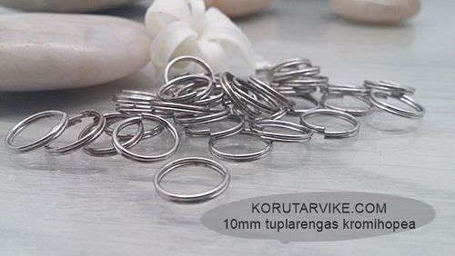 Tuplarengas 10mm kromi 10g