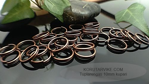 Tuplarengas 10mm kupari 10g