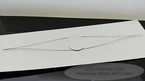 Helmineula 125mm ultraohut 0,3mm RST